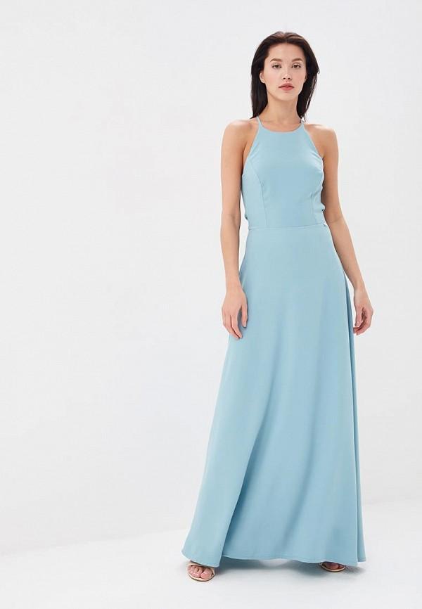 женское повседневные платье blugirl folies, бирюзовое