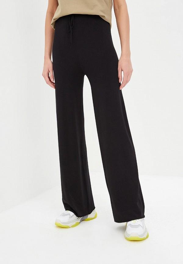 женские повседневные брюки blugirl folies, черные