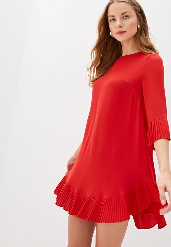 женское повседневные платье blugirl folies, красное