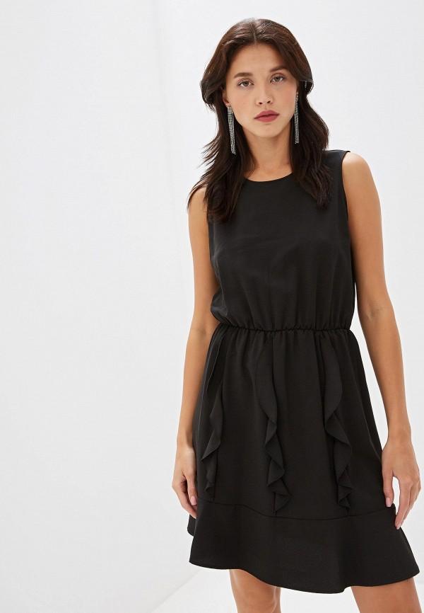 женское повседневные платье blugirl folies, черное