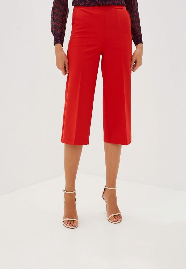 женские брюки blugirl folies, красные