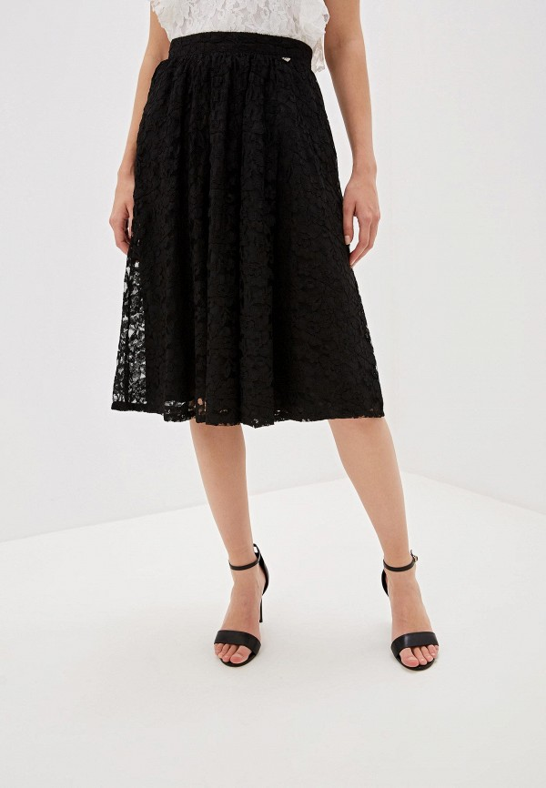 женская юбка blugirl folies, черная