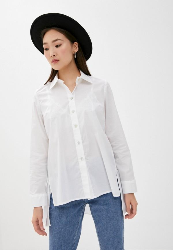 женская блузка blugirl folies, белая