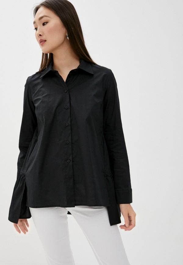 женская блузка blugirl folies, черная