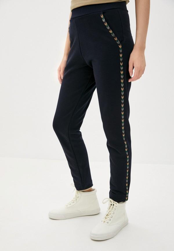 женские спортивные брюки blugirl folies, синие