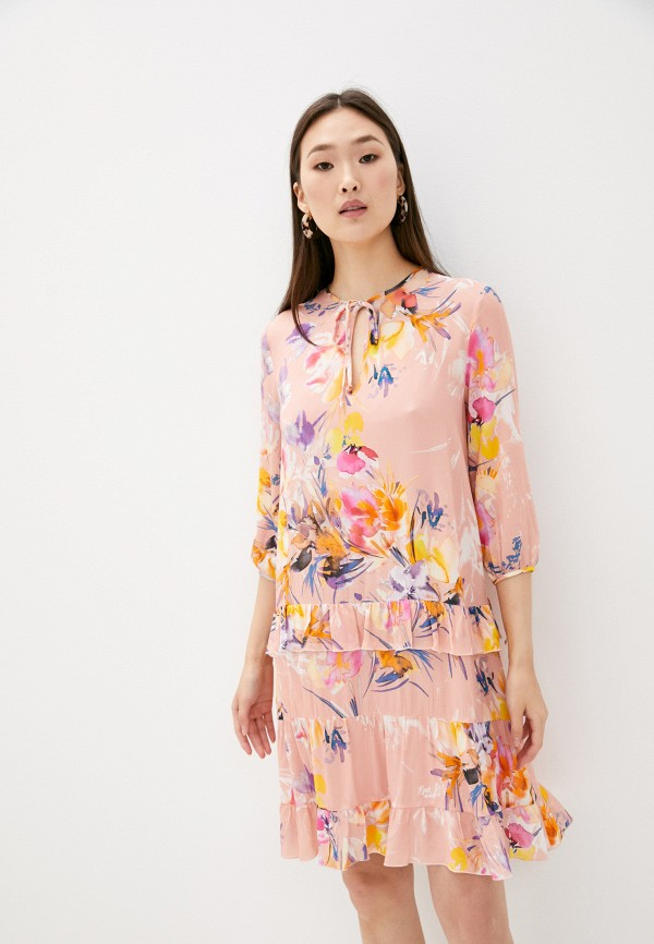 женское повседневные платье blugirl folies, розовое