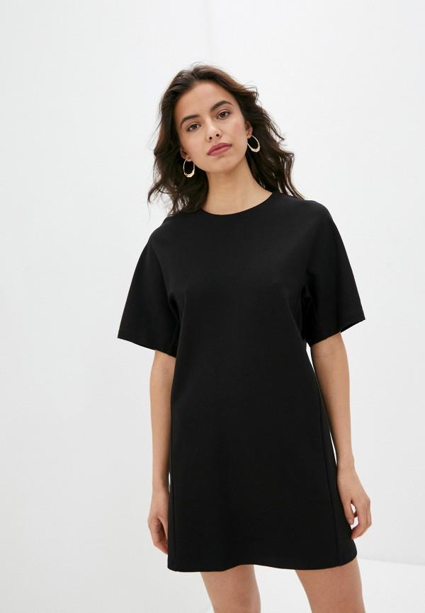 женское платье-футболки blugirl folies, черное