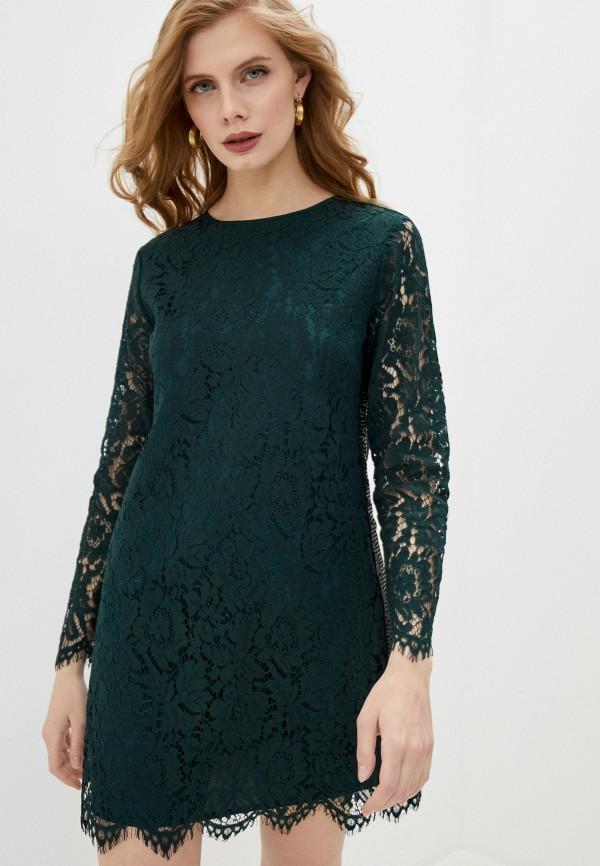 женское повседневные платье blugirl folies, зеленое