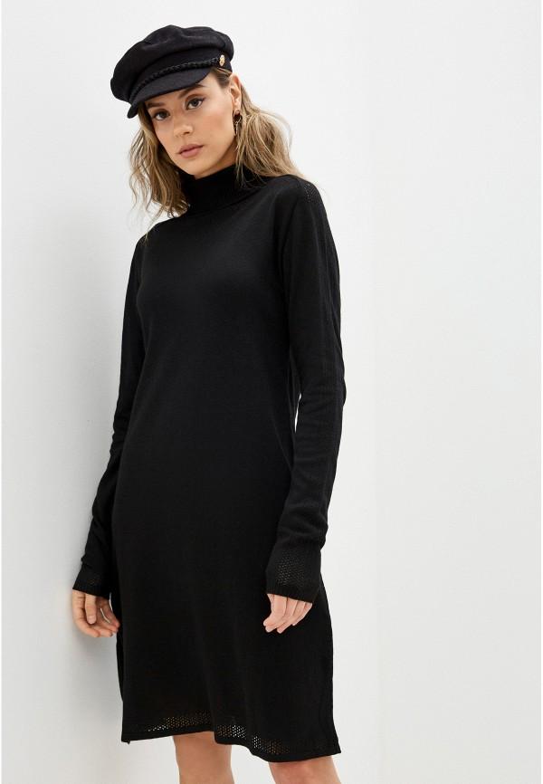 женское платье blugirl folies, черное