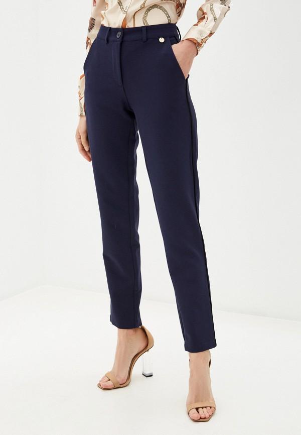 женские повседневные брюки blugirl folies, синие