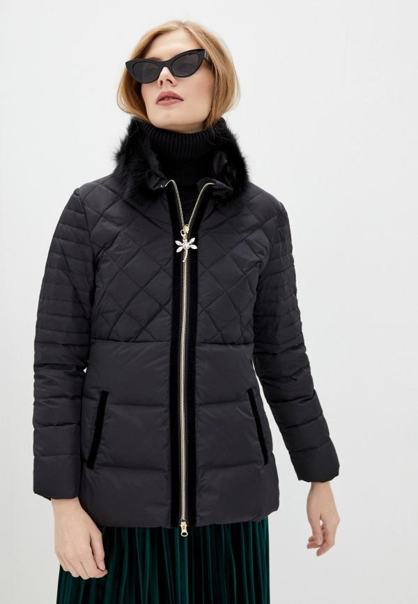 женская куртка blugirl folies, черная