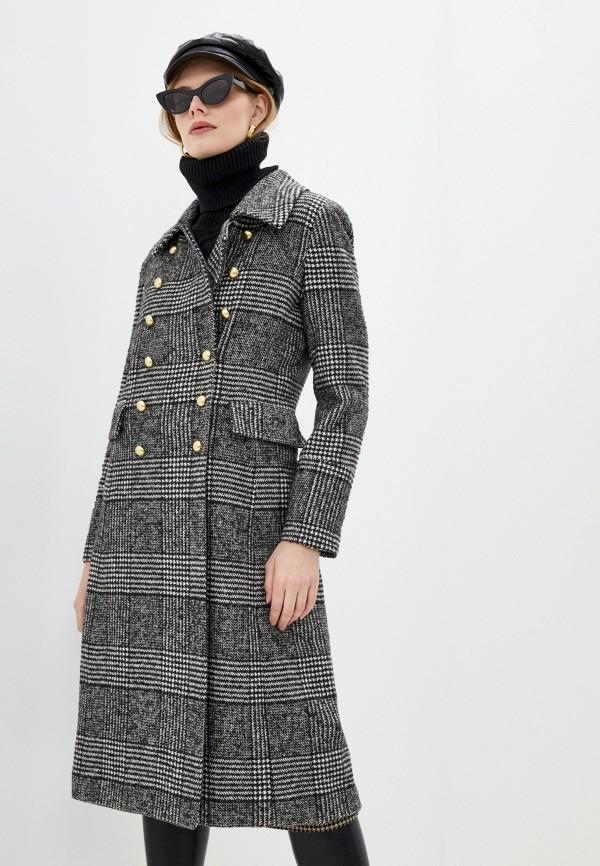 женское пальто blugirl folies, серое