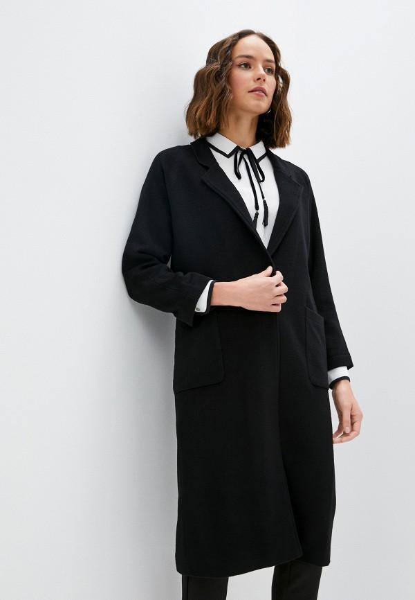 женское пальто blugirl folies, черное