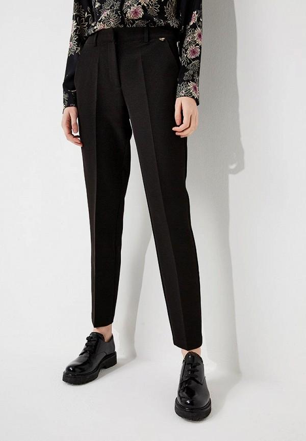 женские классические брюки blugirl folies, черные