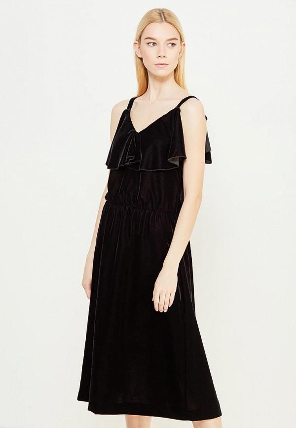 женское вечерние платье blugirl folies, черное