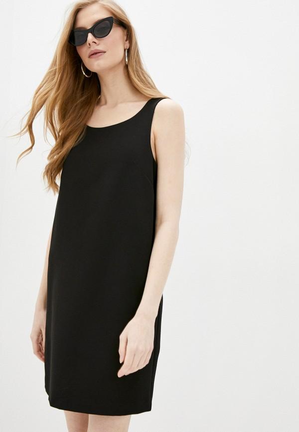 женское платье-футляр blugirl folies, черное