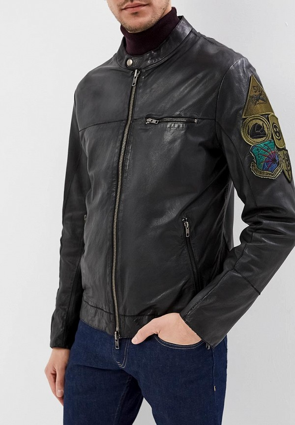 Куртка кожаная Blouson Blouson BL033EMERAE1 куртка кожаная blouson blouson bl033emqgn46