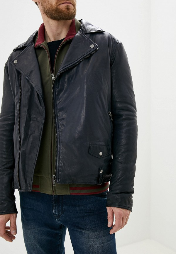 цены Куртка кожаная Blouson Blouson BL033EMGABM3