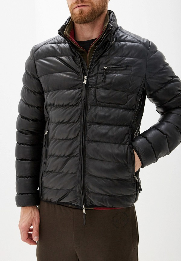 Куртка кожаная Blouson Blouson BL033EMGABM6 куртка кожаная blouson blouson bl033emqgn46