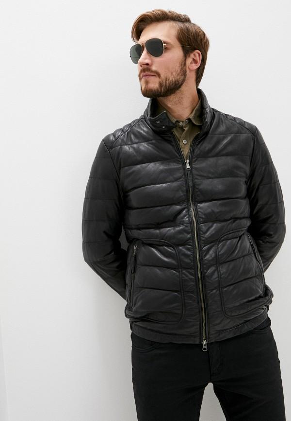 мужская куртка blouson, черная
