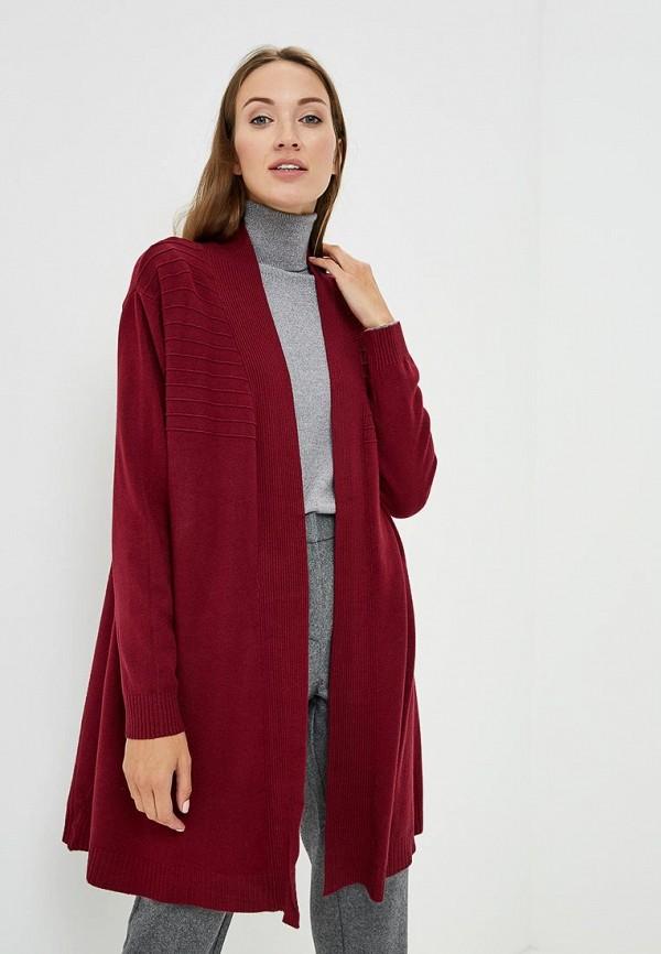 Купить Кардиган Bluoltre, BL037EWCMXQ4, бордовый, Осень-зима 2018/2019