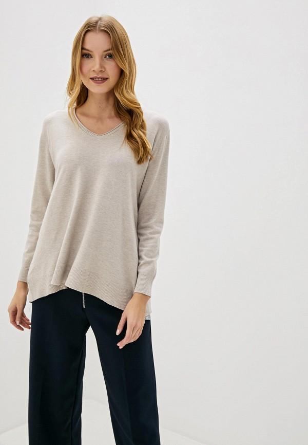 женский пуловер bluoltre, бежевый