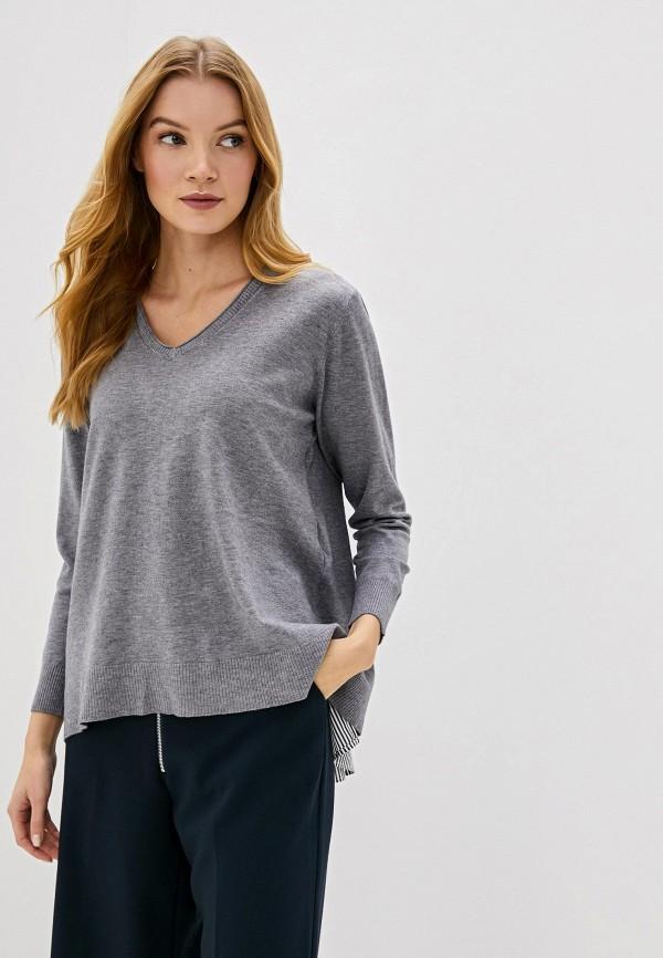 женский пуловер bluoltre, серый