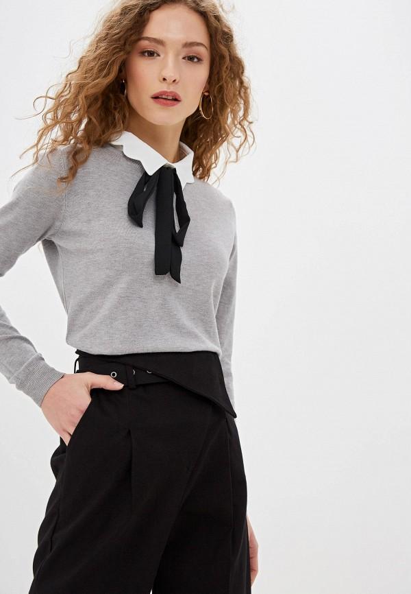 женский джемпер bluoltre, серый