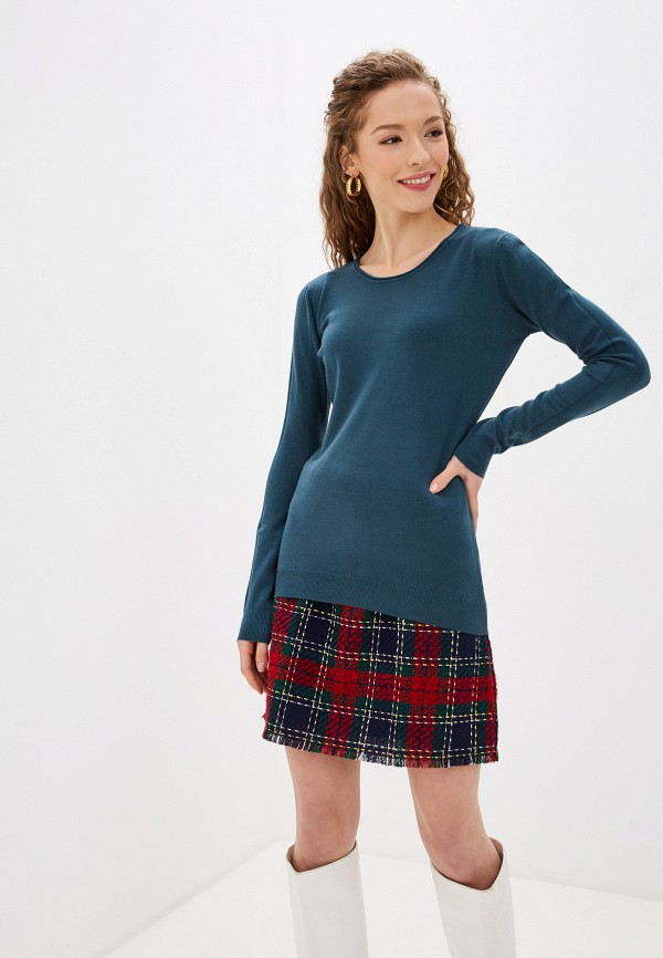 женский джемпер bluoltre, синий