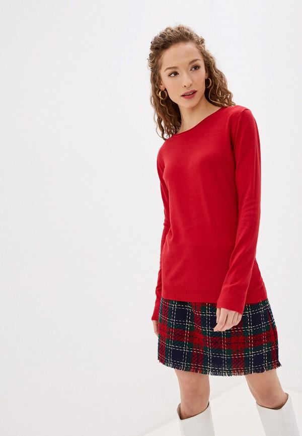 женский джемпер bluoltre, красный