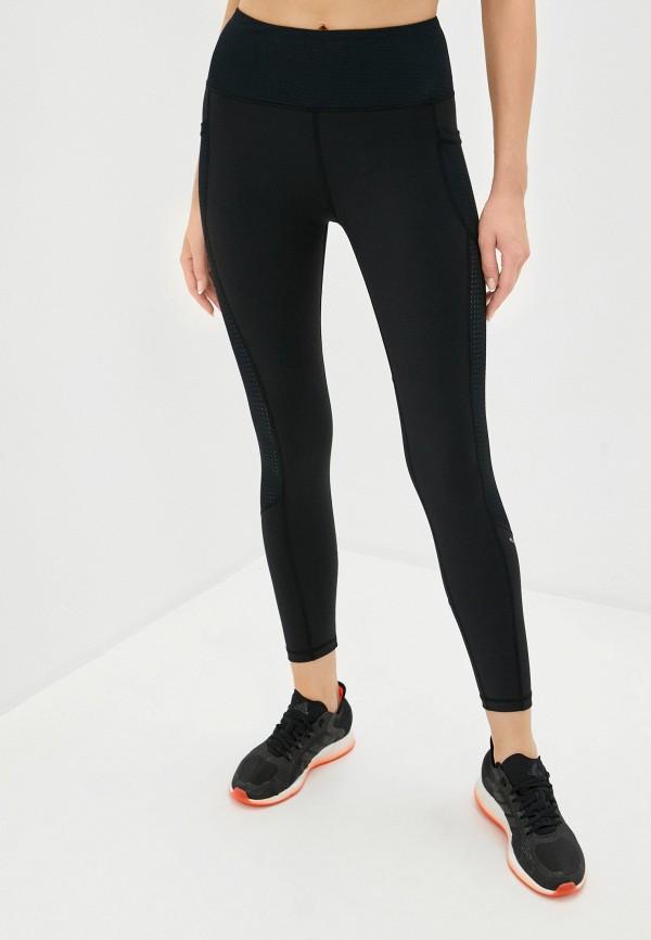 женские спортивные леггинсы black limba, черные