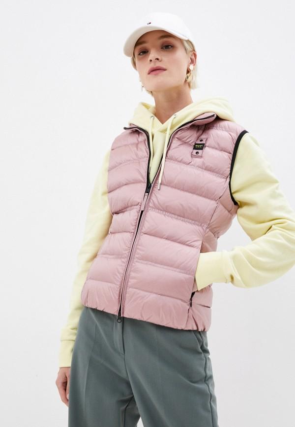 женский жилет blauer usa, розовый