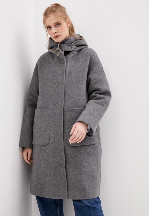 женское пальто blauer usa, серое