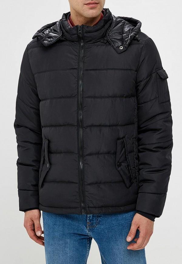 мужская куртка blend, черная