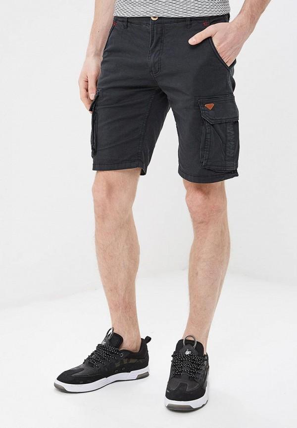 мужские повседневные шорты blend, черные