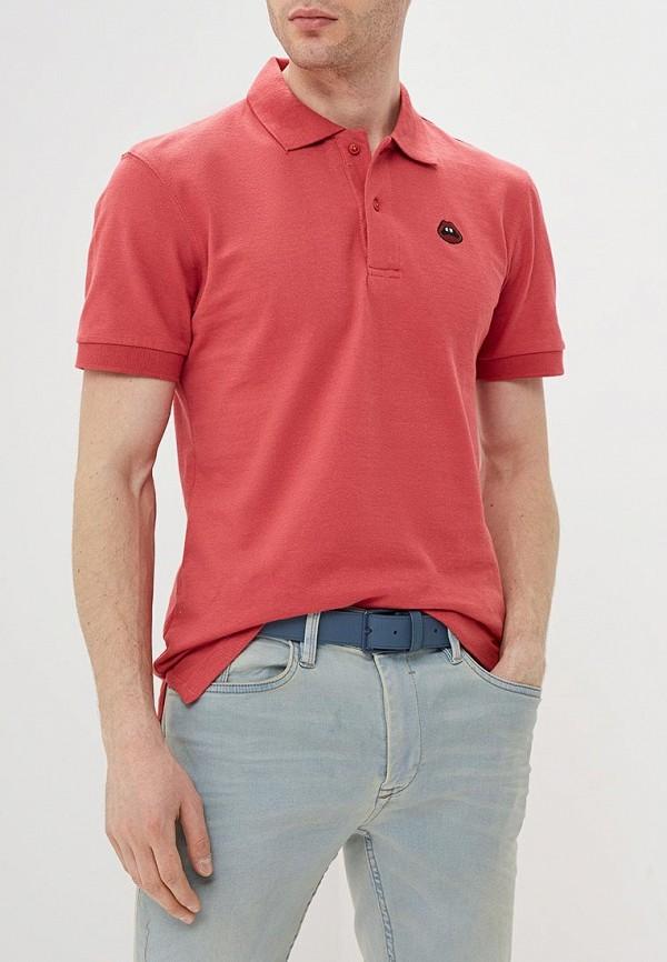 мужское поло blend, розовое