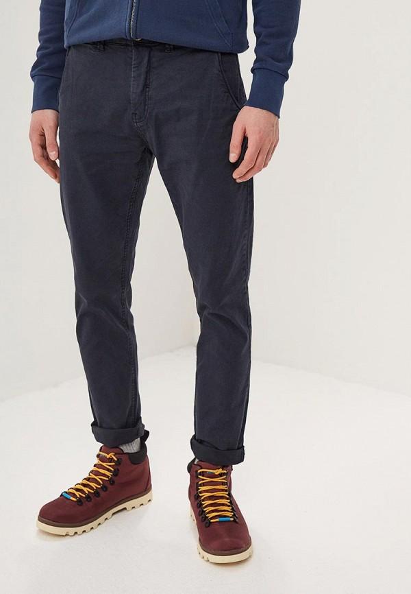 мужские повседневные брюки blend, синие