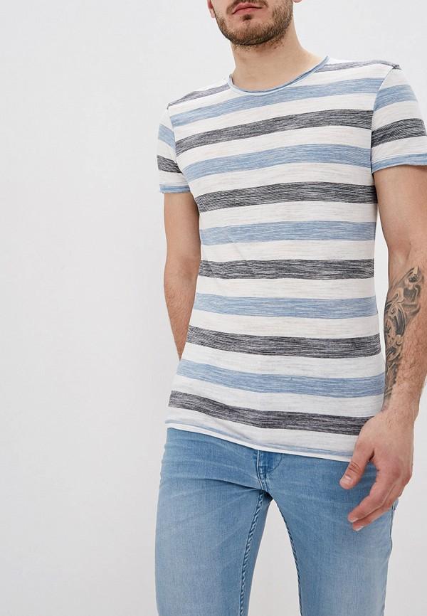 мужская футболка с коротким рукавом blend, разноцветная