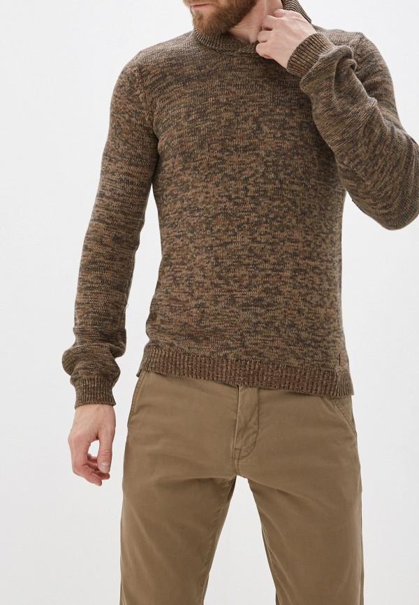 мужской пуловер blend, коричневый