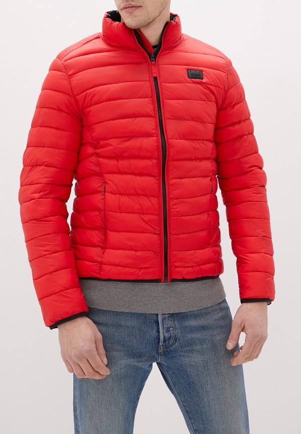 мужская куртка blend, красная
