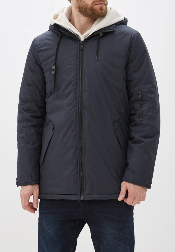 мужская куртка blend, синяя