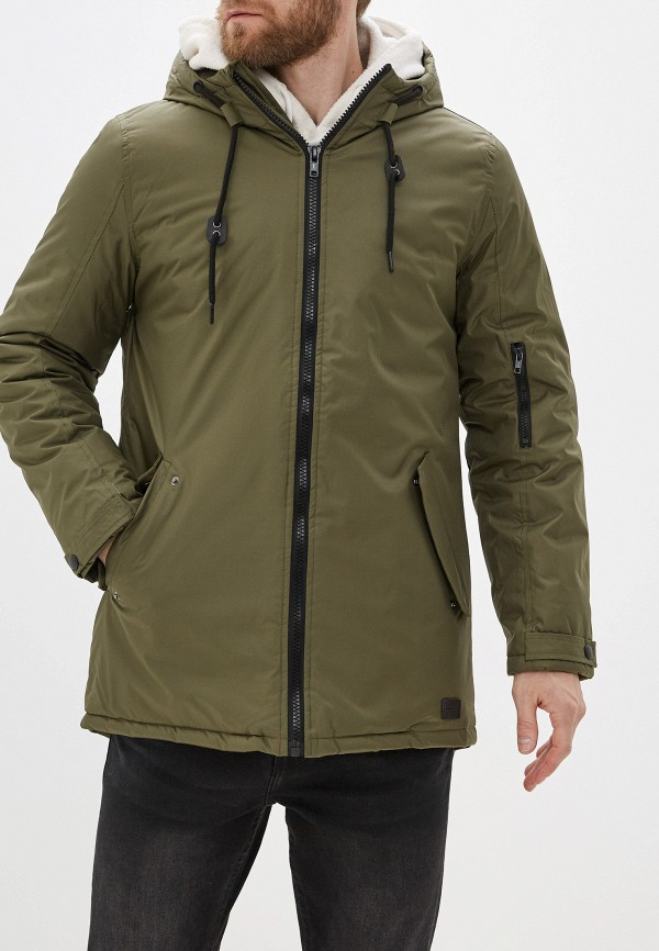 мужская куртка blend, хаки