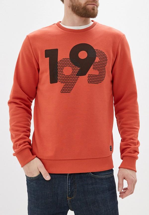 мужской свитшот blend, оранжевый