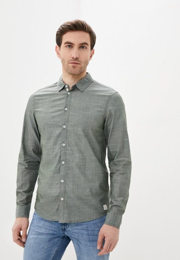 мужская рубашка с коротким рукавом blend, хаки