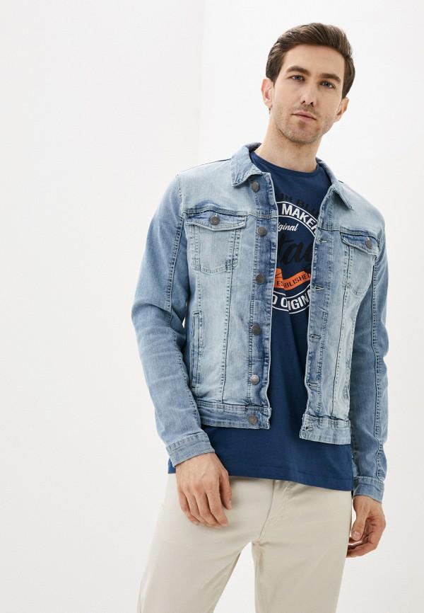 мужская джинсовые куртка blend, голубая