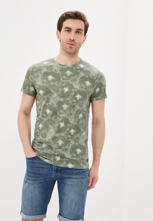мужская футболка с коротким рукавом blend, хаки
