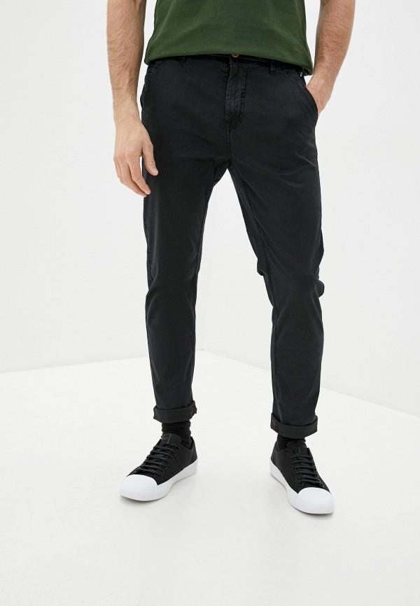 мужские повседневные брюки blend, черные