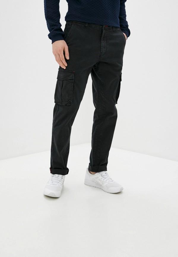мужские брюки карго blend, черные