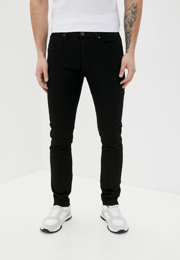мужские зауженные джинсы blend, черные