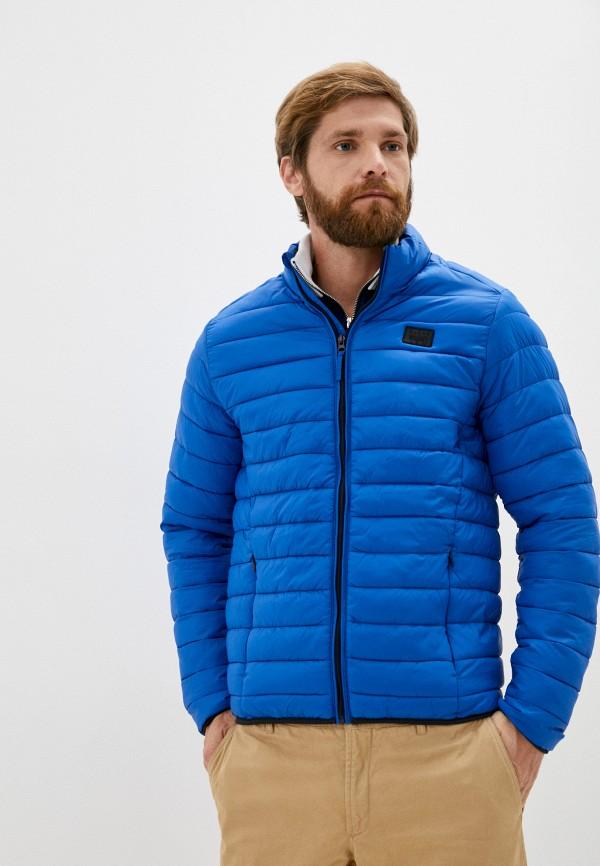 мужская куртка blend, голубая